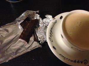 Chocolade en koffie